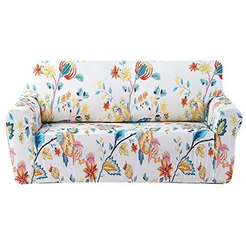 Forcheer copridivano sofa salotto protettore imbottito mobili copertura panno antiscivolo divano protector 2 posti (135-180cm)
