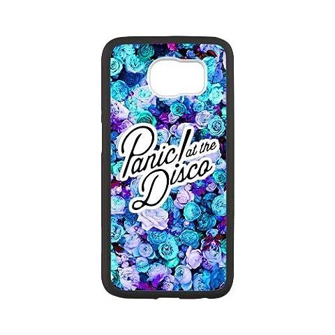 Panic At The Disco Custom Durable Plastic Case pour Coque Samsung Galaxy S6(Laser Technology)Cas De Téléphone