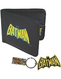 DC Comic - Batman Geldbörse + Schlüsselanhänger - Logo