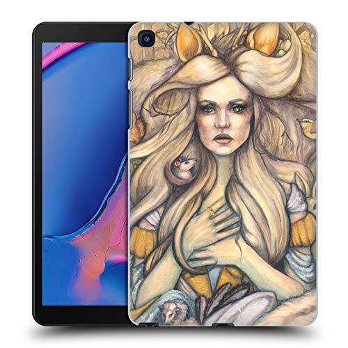 Head Case Designs Offizielle Tiffany Tito Toland-Scott Aschenputtel Mit Tiere Myth Harte Rueckseiten Huelle kompatibel mit Samsung Galaxy Tab A 8 (2019) -