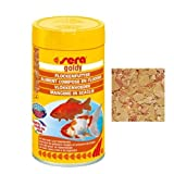 Sera Goldy - Mangime in scaglie per tutti i pesci rossi e da laghetto (100 ml)