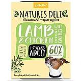 Natures Deli – Erwachsenen-Lampe & Hühnchen frei – 400 g Tablett x 21