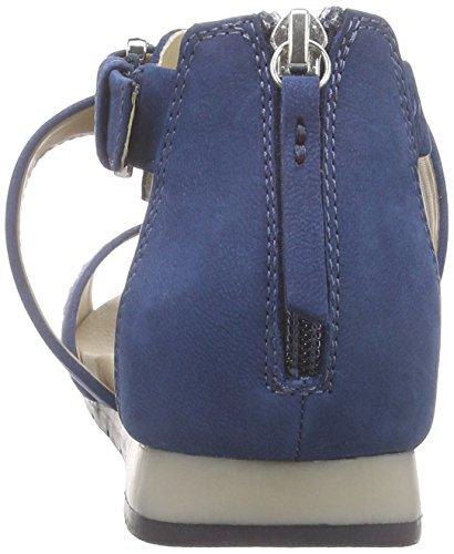 Geox D Formosa D, Sandales ouvertes femme Bleu - Bleu denim (C4008)
