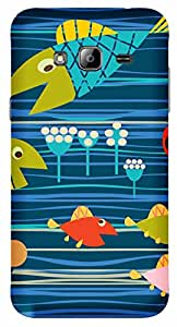 TrilMil Printed Designer Mobile Case Back Cover For Samsung Galaxy J3