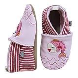 Melton Krabbelschuh Fischlein, Baby Mädchen Krabbelschuhe, Mehrfarbig (Baby pink 504), Gr. 22-23 (12-18 Monate)