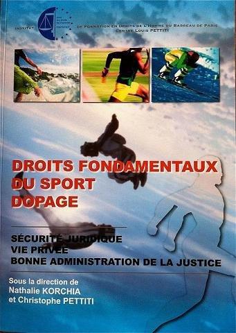 DROIT FONDAMENTAUX DU SPORT DOPAGE