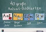 40 große Anlaut-Bildkarten: für Kita und Grundschule