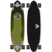 Flying Wheels Longboard Cruiser Complete Foil Board 36.0 x 9.5 inch Carver - Special Edition with Koston ball bearings