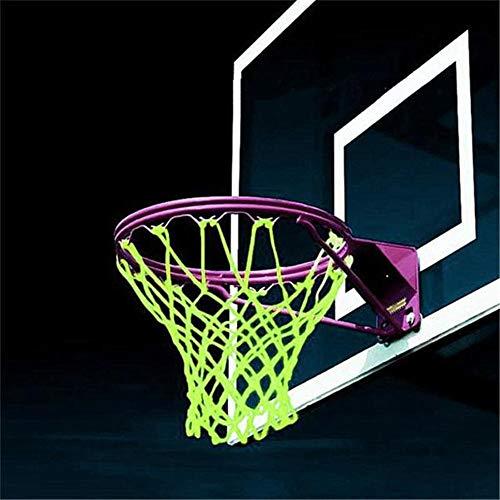 Basketball-Netzkorb-Glühen, Ersatz-Basketballkorb-Standardgröße Indoor Outdoor Sports