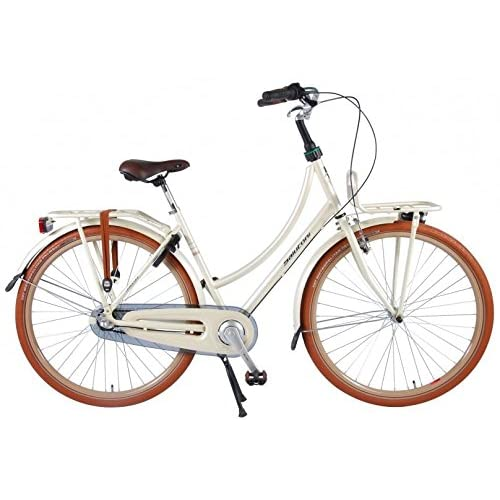 51bVBbVVGiL. SS500  - Salutoni Excellent 28 Inch 50 cm Woman 3SP Coaster Brake Cream