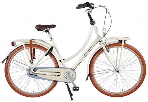 51bVBbVVGiL - Salutoni Excellent 28 Inch 50 cm Woman 3SP Coaster Brake Cream