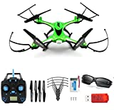 JJRC H31 Waterproof Headless RC Quadcopter Drone 360°Rolling Action 3D CF One Key Return 2.4G 4CH 6Axis RC Quadcopter RTF with LED Light for Night Flight Green