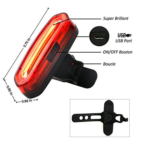 Zoom IMG-1 tedgem super luminoso rosso led