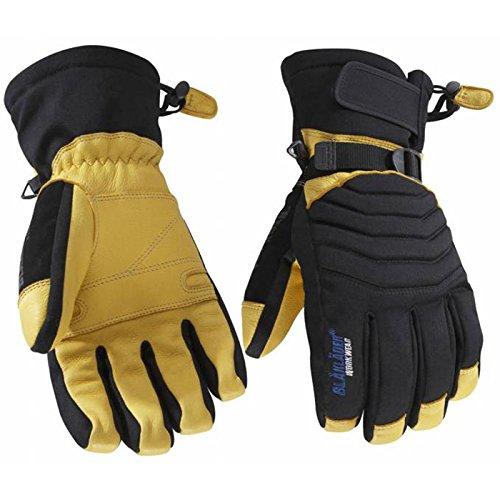 Blakläder Handschuhe 'Handwerk', 1 Stück, 10, schwarz / gelb, 22383922993310