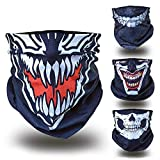 Venom Ghost Ninja Karneval Fasching gesichtsmaske gesichtsschal bandana sturmhaube funktionshaube gesichtshaube stirnhaube kopfbedeckung halsbedeckung stirntuch stirnband bekleidung hut mütze cap