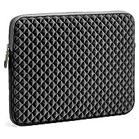 Laptop Bag, Evecase Suit Fabric Neoprene Messenger Tote Bag For Laptop, Macbook, Tablet, Chromebook