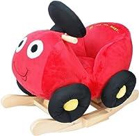 Knorr-baby 60017 - Schaukelspielzeug, Schaukelauto Töff Töff, rot