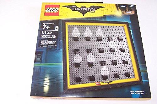 Lego The Batman Movie Sammlerrahmen, um seine eigenen Minifiguren von Batman aufzustellen (Lego Bilderrahmen)