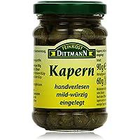 Feinkost Dittmann Kapern in Salz-Essiglake, 90 g