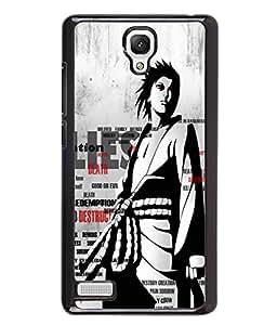 Fuson 2D Printed Designer back case cover for Xiaomi Redmi Note 4G - D4338
