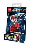 LEGO - DC Superheroes Harley Quinn mini linterna, 7,6 cm (100005)