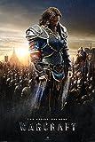 Warcraft Two Worlds. One Home Anduin Lothar Film Kino Fantasy Poster - Grösse 61x91,5 cm + 1 Ü-Poster der Grösse 61x91,5cm