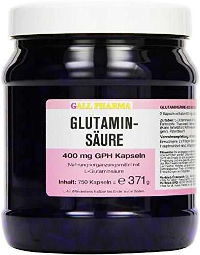 Gall Pharma Glutaminsäure 400 mg GPH Kapseln 750 Stück
