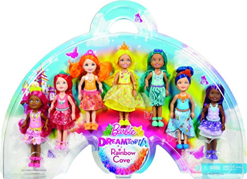 Barbie Juego de regalo Dreamtopia Rainbow Cove 7 Chelsea Doll