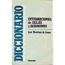 DICCIONARIO INTERNACIONAL DE SIGLAS Y ACRÓNIMOS