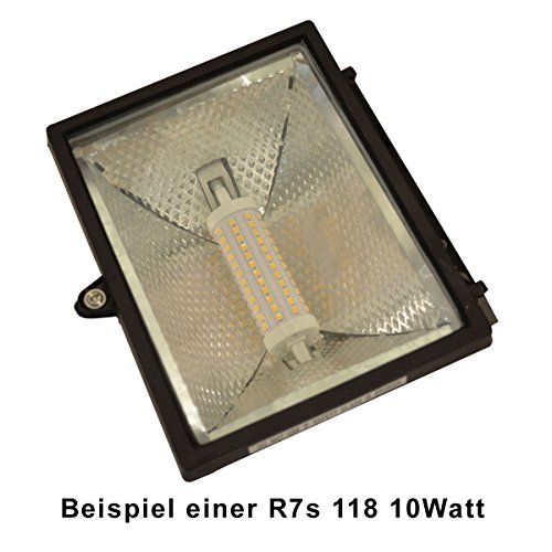 R7s LED 10 Watt dimmbar – warmweiß – 3000K - 8