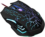 Wired Gaming Mouse, SOWTECH(TM)Professional 2400DPI Ergonomic LED Optical USB Gaming Mouse with 6 Buttons
