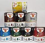 Alpina Buntlack für Innen Lichtgrau glänzend 750 ml