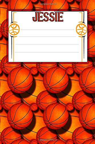 Basketball Life Jessie: College Ruled | Composition Book (Party Jessie Supplies)