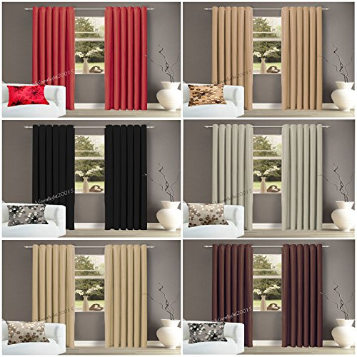 Interwoven-Curtains-Supersoft-Insulated-Thermal-Blackout-Pencil-Pleat-Pair-Curtains-for-living-Room