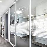 KINLO Fensterfolie 90x200cm, Sichtschutzfolie TYP A Selbstklebend, ECHO Fensterschutzfolie UV Schutz, Sonnenschutzfolie Wärmeregelung für Büro, Badezimmer