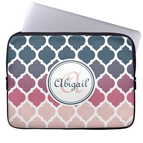 grande-per-laptop-da-15-pollici-cover-monogramma-marocco-rosa-blu-lattice-pattern-laptop-maniche