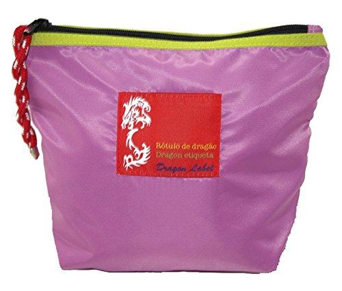 Dragón Etiqueta de viaje aire maquillaje Toiletry funda Bolsa de soporte Vintage Fancy elegante, morado (morado) - UK-RE8208