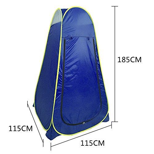 tent De Pansement Automatique Portative Extérieure De Plage,Blue