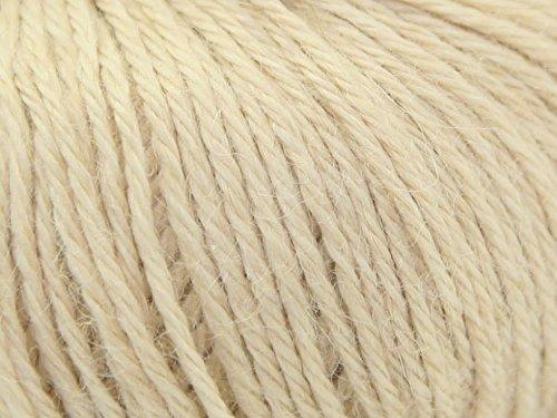 King Cole Strickwolle/Strickgarn, Baby-Alpaka-Wolle, DK-Wolle, 50-g-Knäuel, Farbe: Fawn 501 (Beigebraun)