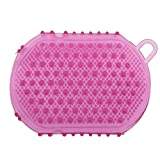 Gant Exfoliant Massage Corporel Brosse de Bain Circulation Sanguine Minceur - Violet