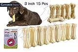 #4: Pets Empire Pressed Dog Bone, (Small 3-Inch ) 3 Inch Bone X 15 Pcs