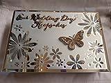 Our Wedding Day Schmetterling Design-Andenken Box ca. 24x 16x 6cms