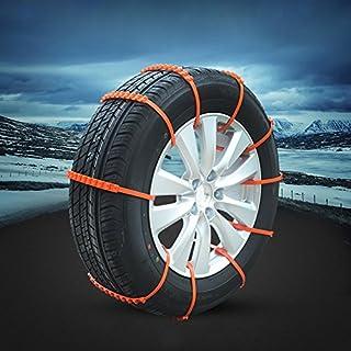 techsmile Tire Kette rutschsicheren Automarke Kabel Bodenhaftung im Winter Hilfe Schnee Auto Tie Universal Fit Notfall 100