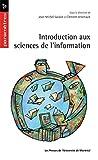 Introduction aux sciences de l'information...