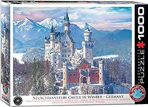 EuroGraphics 6000-5419 - Puzzle de Invierno con diseño de Castillo de Neuschwanstein