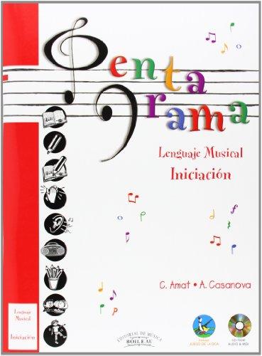 Pentagrama Lenguaje Musical: Pentagrama Pre-lenguaje Musical (INICIACIÓN): 1 por Carmen AMAT CUNNINGTON