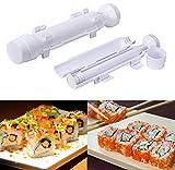Facile de faire des sushi Elyseesen Sushi parfait Roll Machine à riz Kit Roller moule moule Chef cuisine bricolage ensemble
