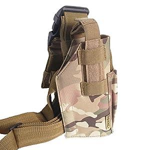 Vega Holster Étui en Cordura Cosciale Multicam Militaire Pistolet Desert Eagle Universel