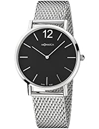 M-WATCH Smart Casual 40 Analog Black Dial Men's Watch-WRG.34120.SM