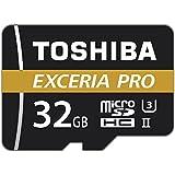 Toshiba THN-M501G0320E7 32 GB M501 Exceria Pro MicroSD-Karte mit Adapter